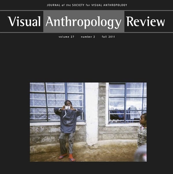 Visual Anthropology Review Cover, Vol.27.2