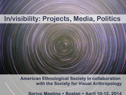 Call for Papers, American Ethnological Society Spring Meeting in collaboration with the Society for Visual Anthropology