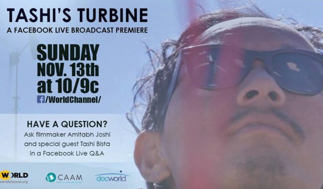 "LIVE Broadcast Premiere of ""T​ashi's Turbine""​ on PBS WORLD Channel"