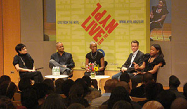 NYPL Live Out of Fashion: Absence of Color panel